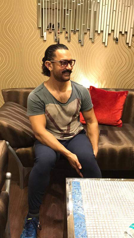 印度影星阿米尔·汗承受专访 泛论中印影戏合作