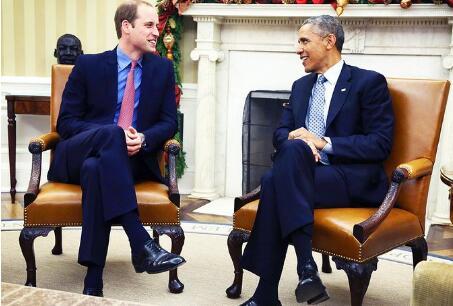 威廉王子与奥巴马