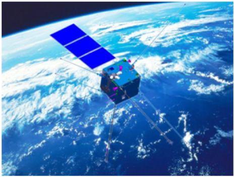 图1 《张衡一号》地震电磁监测卫星