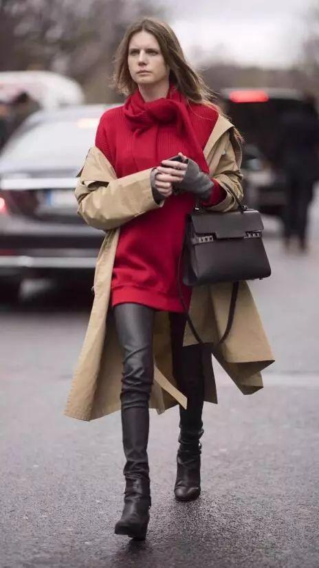 新年红装怎么穿更出彩?玩转撞色搭配秒变时尚达人~