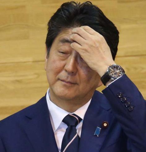 日本首相安倍晋三(来源:日本《日刊现代》)