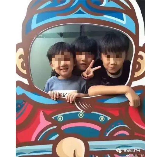 ▲林家三个孩子的生前合影。受访者供图