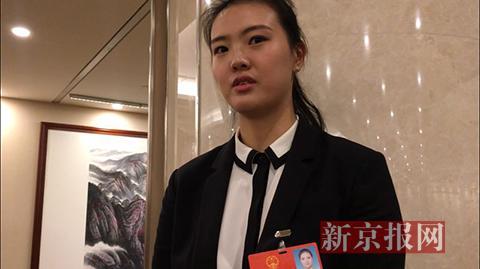 张常宁接受采访。新京报记者 陈鹏 摄