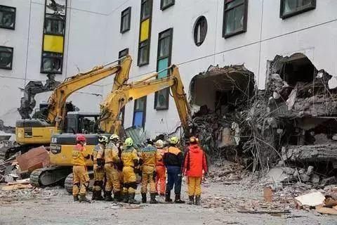 ▲台湾地震救援现场(台湾中时电子报)