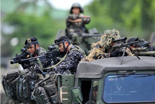 菲律宾总统杜特尔特请求中国训练菲特种部队。(图源:俄罗斯卫星通讯社)