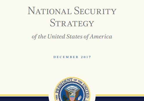 图为《国家安全战略报告》封面