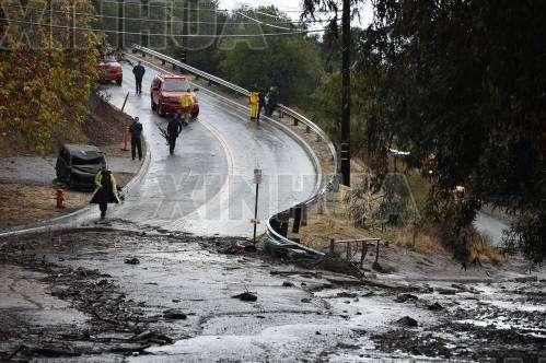 美国加州发生泥石流至少13人死亡