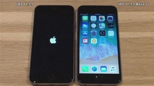 iOS 11.2.5 Beta版更新:速度升级续航提升