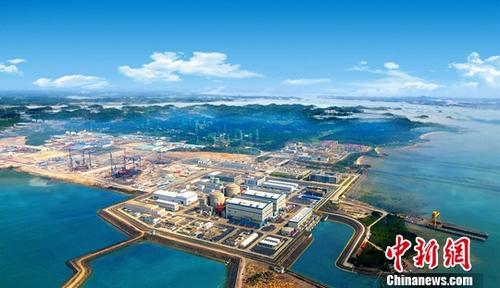 资料图为防城港核电项目。中新社记者 钟欣 摄