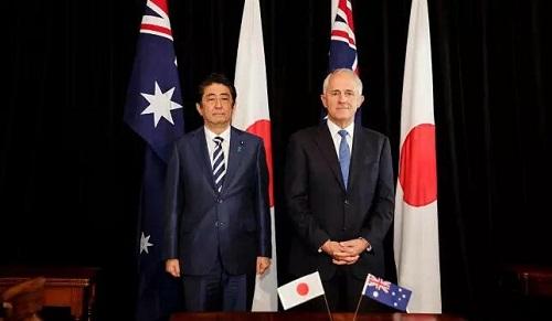 澳日拟签防务合作协议 澳专家:或成军事