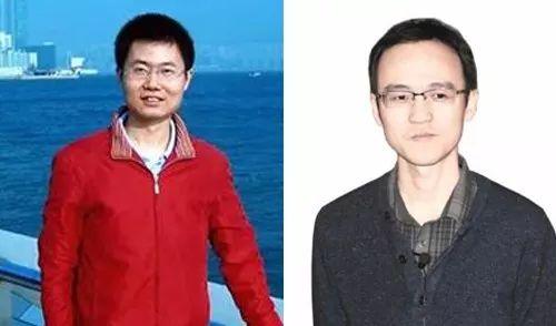 恽之玮(左)和张伟(右)