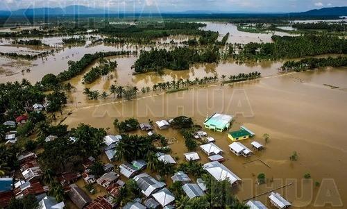 """台风""""天秤""""已造成菲律宾164人死亡"""