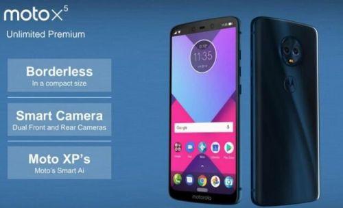 摩托罗拉Moto X5手机曝光 前后均为双摄设计