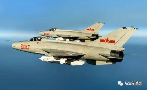 ▲歼7:上世纪60年代中国沈阳飞机制造厂(后转产至成都飞机制造厂和贵州飞机制造厂)制造的单座单发超音速喷气战斗机