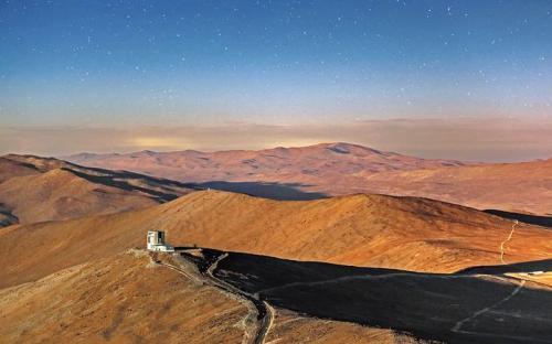 智利阿塔卡马沙漠的壮丽景观。来源:ESO。
