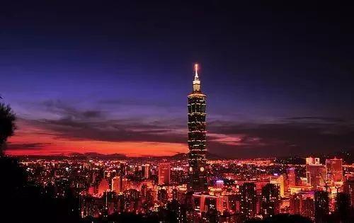 ▲台北夜景