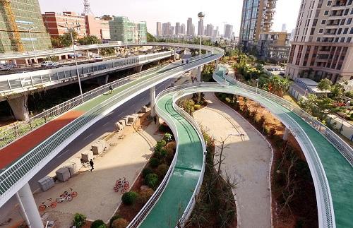 英媒 中国现自行车高速路 探索再次拥抱自行车