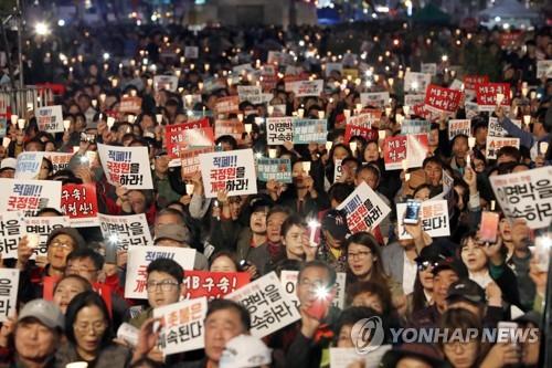 韩国年度成语选破邪显正 盼除朴槿惠政府沉疴