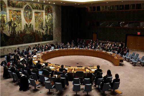 2017年12月22日,在位于纽约的联合国总部,安理会召开会议表决涉朝决议。新华社/路透