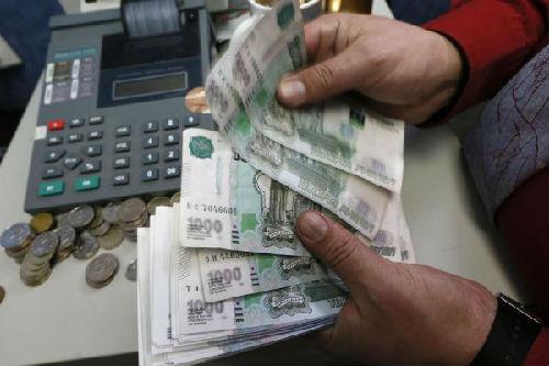 资料图片:图为俄罗斯货币卢布。(新华社)