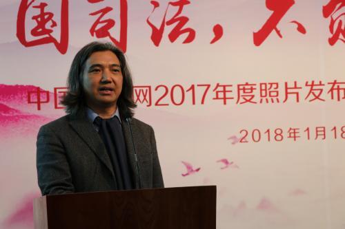 图为中国美术馆馆长吴为山。图片来源:中国长安网
