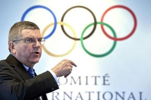 资料图:国际奥委会主席巴赫。图片来源:路透