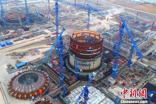 资料图:防城港核电项目。中新社记者 钟欣 摄