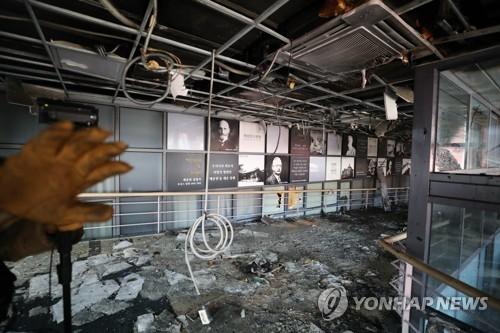 韩国又一医院发生火灾 100名病人仓皇逃往屋顶