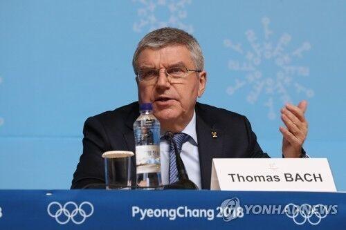 国际奥委会主席:应尽快决定邀15名俄运动员参奥