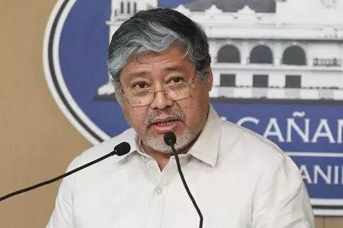 ▲菲律宾外交部副部长恩里克·马纳洛(新华社)