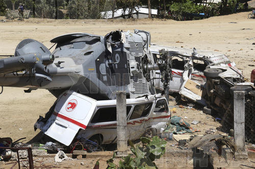墨西哥直升机坠机事件死亡人数升至13人