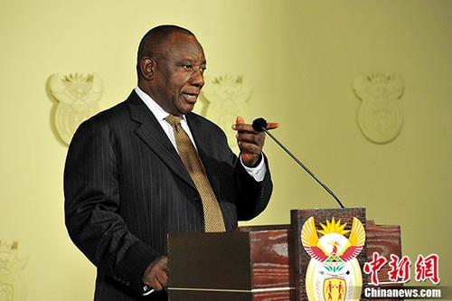 南非总统称将捐一半薪水支援国家建设