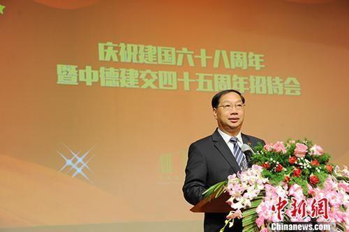 资料图:史明德。 中新社记者 彭大伟 摄