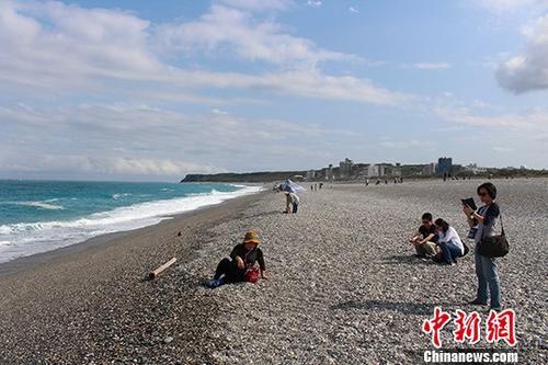 资料图:台湾花莲七星潭景区   中新社记者 张晓曦 摄
