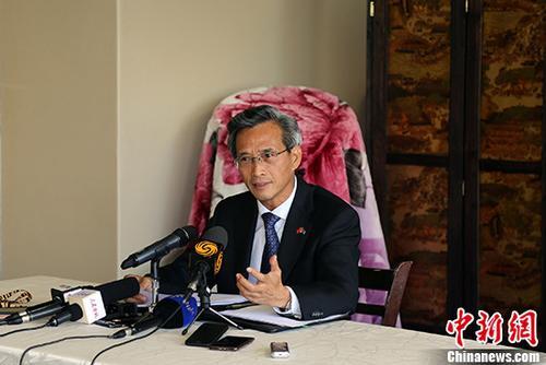澳门新金沙在线网址:中驻南非大使:到非洲抹黑中国选错地点_打错目标