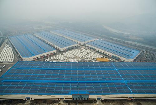 资料图片:浙江安吉光伏发电项目。(新华社记者 徐昱摄)