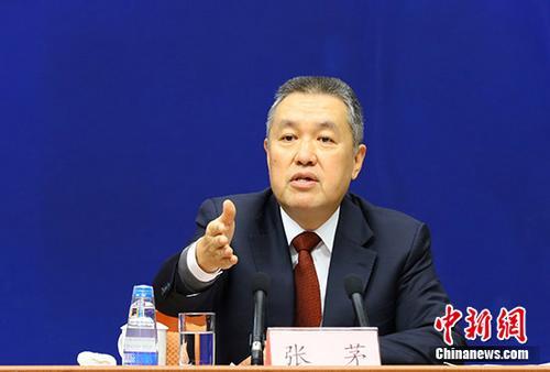 资料图:国家工商行政管理总局局长张茅。 中新社记者 杨可佳 摄