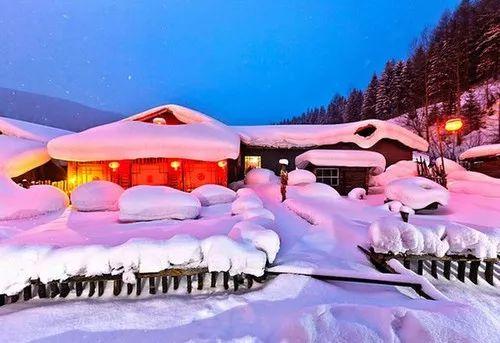 ▲雪乡宣传照片。