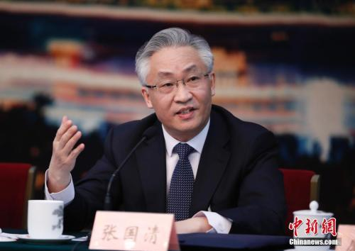 资料图:张国清。 中新社记者 杜洋 摄