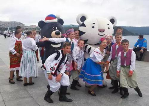 韩国旅游生长局本月在俄罗斯举行平昌冬奥会宣传运动。(图片泉源:韩联社)