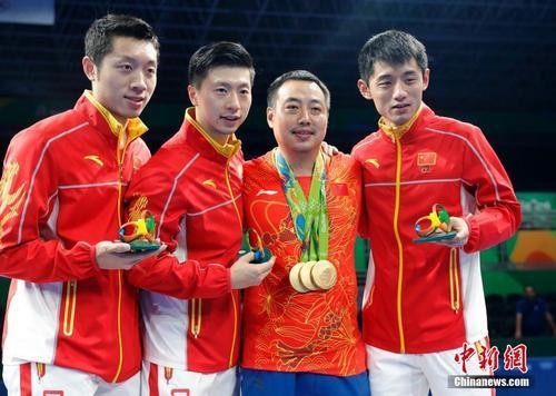2016里约奥运男子乒乓球团体赛决赛