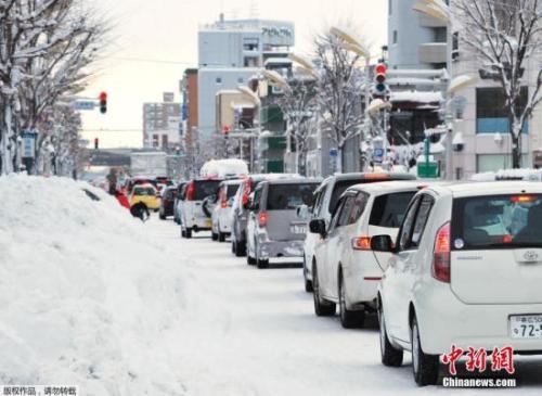 北海道迎雪季 中领馆吁赴日自驾游中国公民注意安全