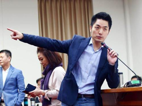 资料图:国民党籍民意代表蒋万安。图片来源:台湾《联合报》