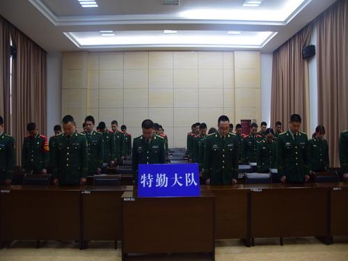 福州消防特勤大队认真组织官
