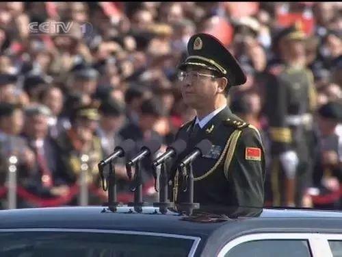 建国60周年阅兵总指挥房峰辉