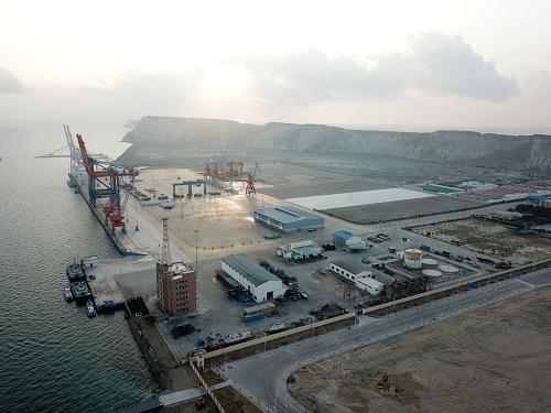材料图片:这是1月29日拍摄的位于巴基斯坦东北部的瓜达尔港。新华社发