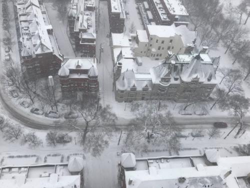 外报:芝加哥迎来暴风雪 逾千航班被迫取消