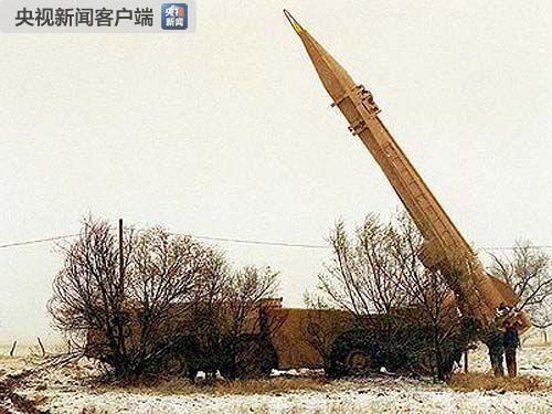 """前苏联""""飞毛腿""""战术地对地导弹"""