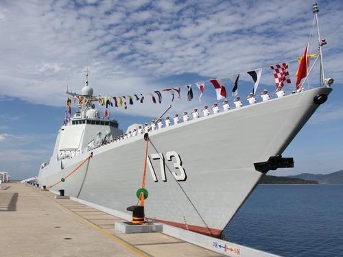 资料图:中国173号驱逐舰