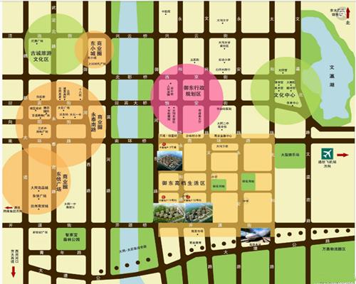 大同市御东区规划图